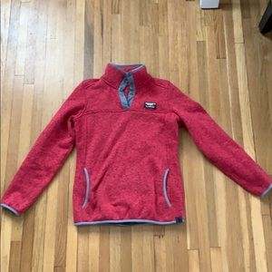 LL Bean Sweater Fleece